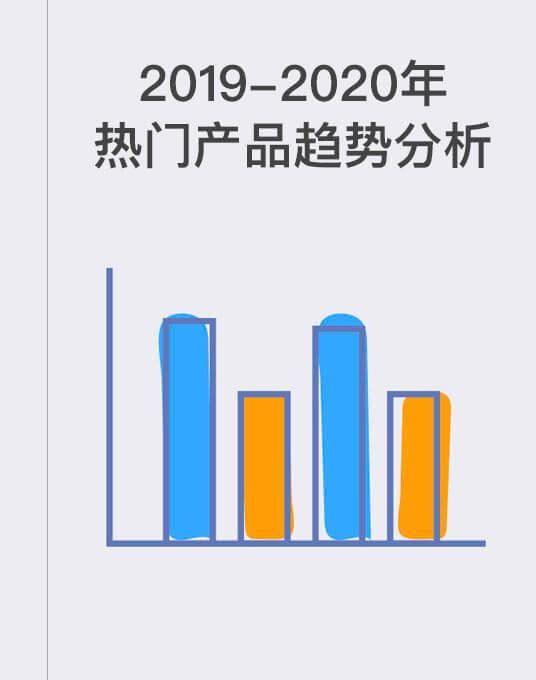 2019–2020年热门产品趋势分析