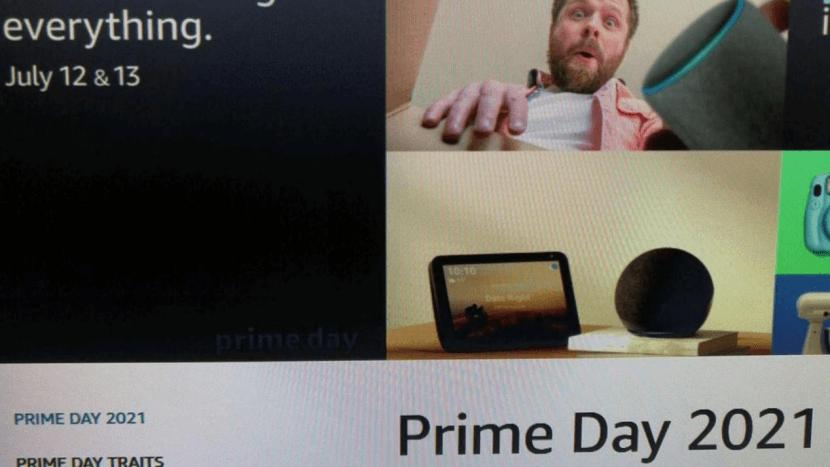 亚马逊prime day 2021
